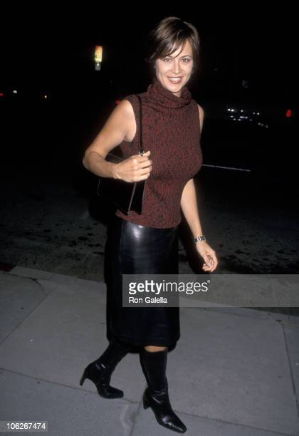 Catherine Bell during Opening Night of 'The Vagina Monologues' October 14 2000 at Canon Theater in Beverly Hills California United States