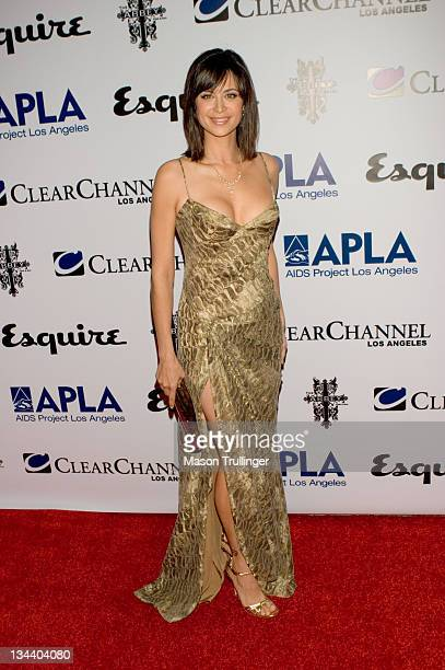 Catherine Bell during The Abbey/Esquire Magazine's 'The Envelope Please' Oscar Party Arrivals at The Abbey in Los Angeles CA United States