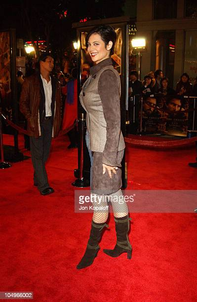 Catherine Bell during 'The Last Samurai' Los Angeles Premiere at Mann's Village Theater in Westwood California United States