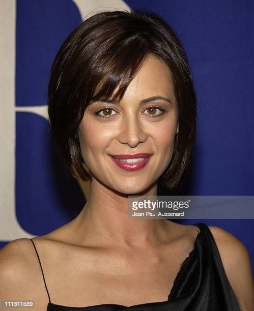 Catherine Bell during The Museum of Television Radio's Annual Los Angeles Gala at Regent Beverly Wilshire Hotel in Beverly Hills California United...