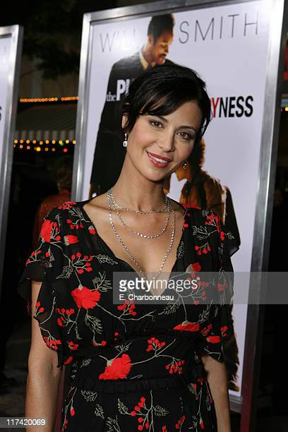 Catherine Bell during The World Premiere of Columbia Pictures' 'The Pursuit of Happyness' at Mann Village in Westwood CA United States
