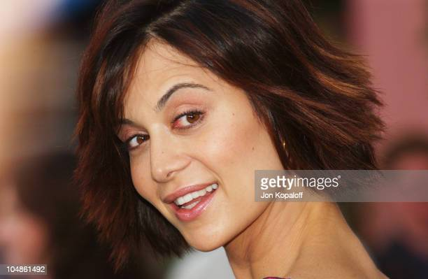 Catherine Bell during The World Premiere Of 'The Hulk' at Universal Amphitheatre in Universal City California United States