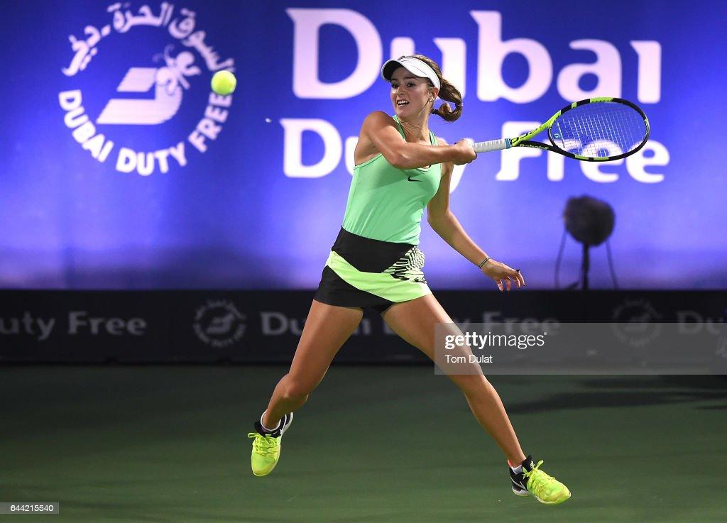 WTA Dubai Duty Free Tennis  Championship - Day Five