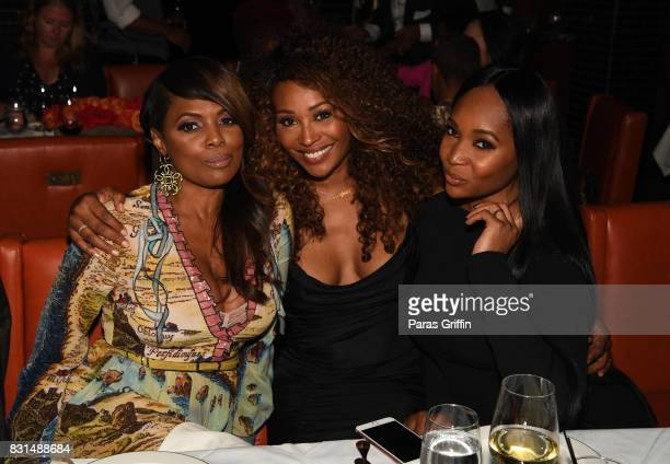 Catherine Brewton Cynthia Bailey and Marlo Hampton at Survivor's Remorse x Upscale Magazine 'Champions Table' Private Dinner at American Cut on...