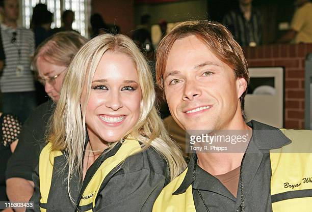 Catherine Britt and Bryan White during Lonestar And Friends Strike Out For The Kids 2nd Annual Bowling Party for St Jude Children's Research Hospital...
