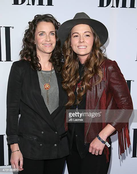 Catherine Carlile and Brandi Carlile attend the 63rd Annual BMI Pop Awards held at the Regent Beverly Wilshire Hotel on May 12 2015 in Beverly Hills...