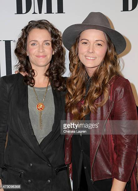 Catherine Carlile and recording artist Brandi Carlile attend the 63rd Annual BMI Pop Awards held at the Beverly Wilshire Hotel on May 12 2015 in...