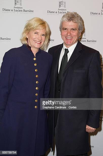 Catherine Ceylac and Claude Serillon attend the premiere of Le Fils de l'Autre in Paris