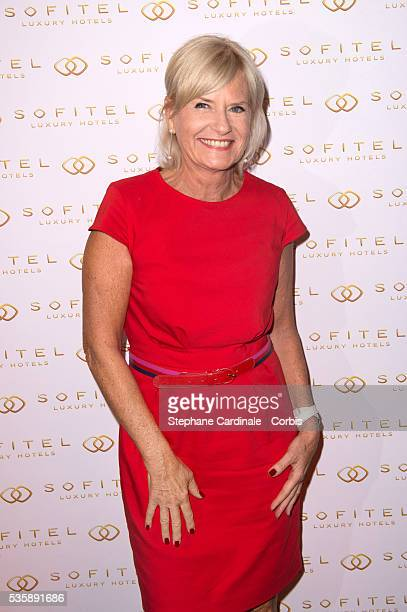 Catherine Ceylac attends the Grand Opening Sofitel Paris Arc de Triomphe in Paris