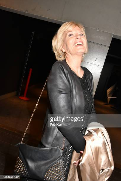 Catherine Ceylac attends the Mobile Film Festival 2017 award ceremony at MK2 Bibliotheque on February 28 2017 in Paris France