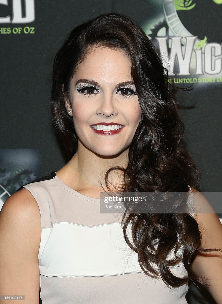 Catherine Charlebois attends the after party for the 'Wicked' 10th anniversary on Broadway at The Edison Ballroom on October 30, 2013 in New York City.