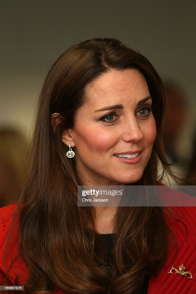 <a gi-track='captionPersonalityLinkClicked' href=/galleries/search?phrase=Catherine+-+Duchess+of+Cambridge&family=editorial&specificpeople=542588 ng-click='$event.stopPropagation()'>Catherine</a>, Countess of Strathearn visits the Astute-class Submarine Building at BAE Systems on April 5, 2013 in Barrow-in-Furness, United Kingdom. The Duke of Cambridge is Commodore-in-Chief of the Royal Navy Submarine Service and during their visit they will tour the offices of Vanguard replacement programme and meet with the crew of Artful and their families, who are now based in Barrow.
