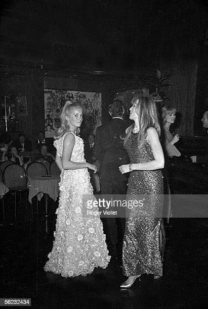 Catherine Deneuve and Francoise Dorleac Paris Club Saint Hilaire 1963 HA1616