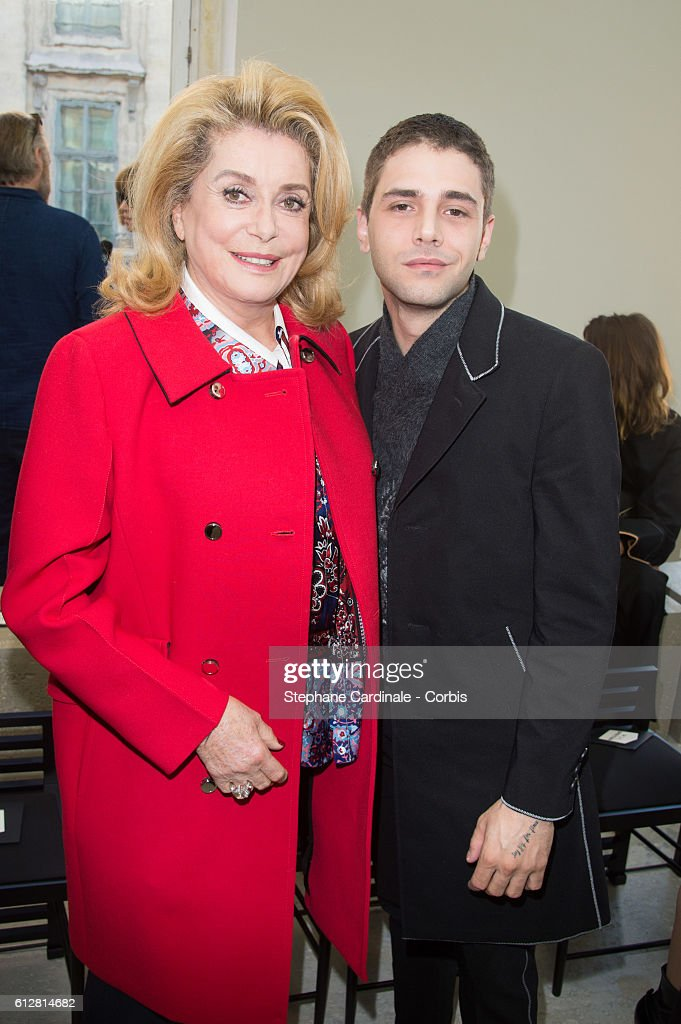 catherine-deneuve-and-xavier-dolan-attend-the-louis-vuitton-show-as-picture-id612814682