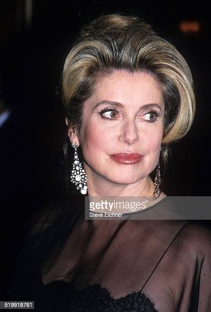 Catherine Deneuve at French Institute event New York New York November 5 1998