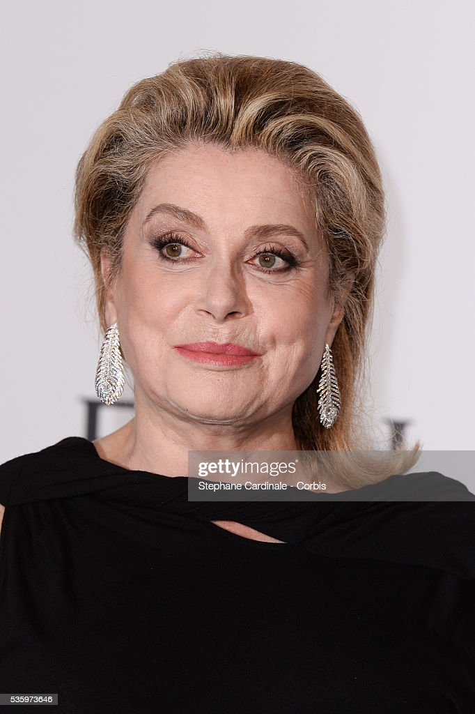Catherine Deneuve at the amfAR's 21st Cinema Against AIDS Gala at Hotel du Cap-Eden-Roc during the 67th Cannes Film Festival