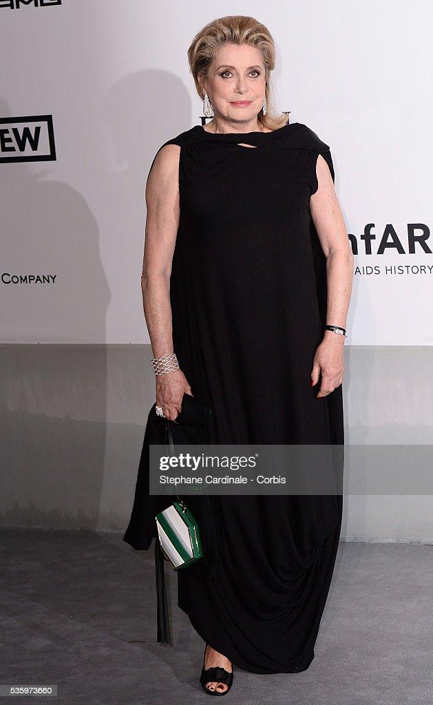 Catherine Deneuve at the amfAR's 21st Cinema Against AIDS Gala at Hotel du Cap-Eden-Roc during the 67th Cannes Film Festival