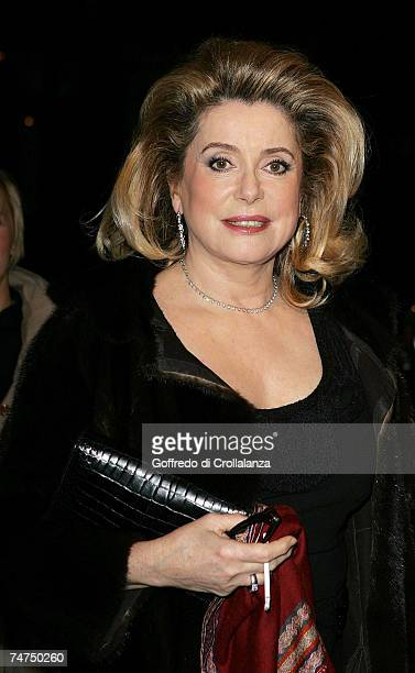 Catherine Deneuve at the Grand Classics 'Place Vendme' Private VIP Screening at The Electric Cinema in London