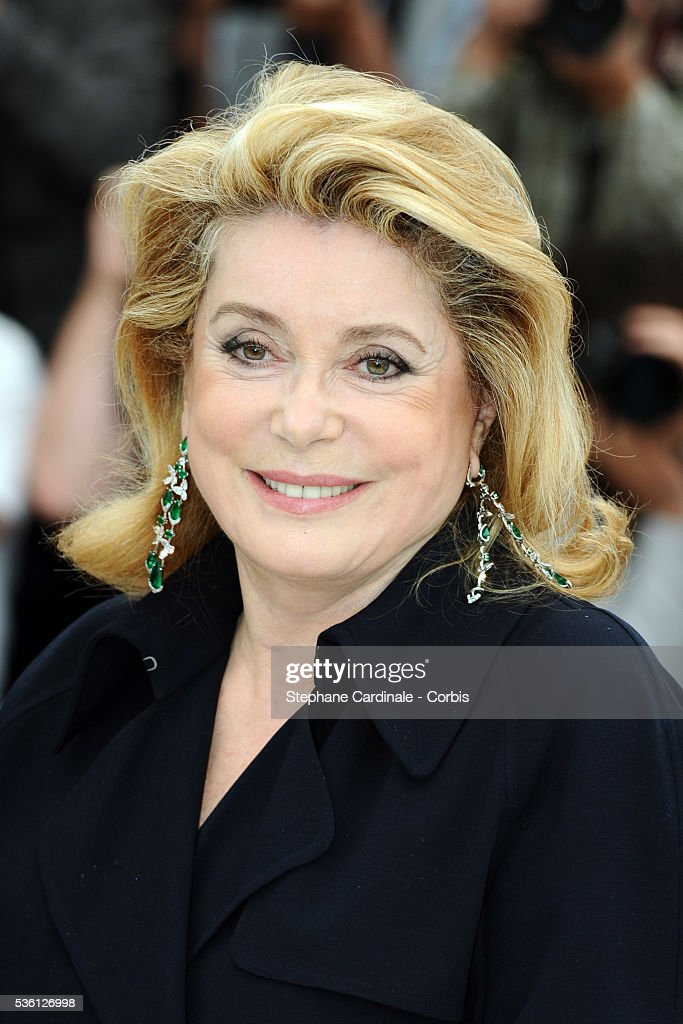 Catherine Deneuve at the Photocall for 'Homage To The Spanish Cinema' during the 63rd Cannes International Film Festival