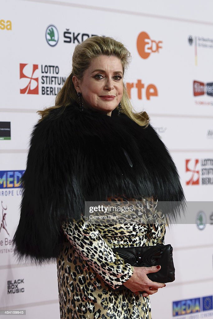 <a gi-track='captionPersonalityLinkClicked' href=/galleries/search?phrase=Catherine+Deneuve&family=editorial&specificpeople=123833 ng-click='$event.stopPropagation()'>Catherine Deneuve</a> attends the European Film Awards 2013 on December 7, 2013 in Berlin, Germany.