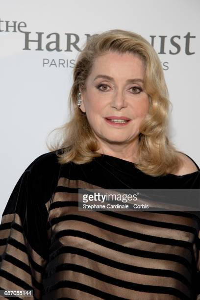 Catherine Deneuve attends The Harmonist Party during the 70th annual Cannes Film Festival at on May 22 2017 in Cannes France