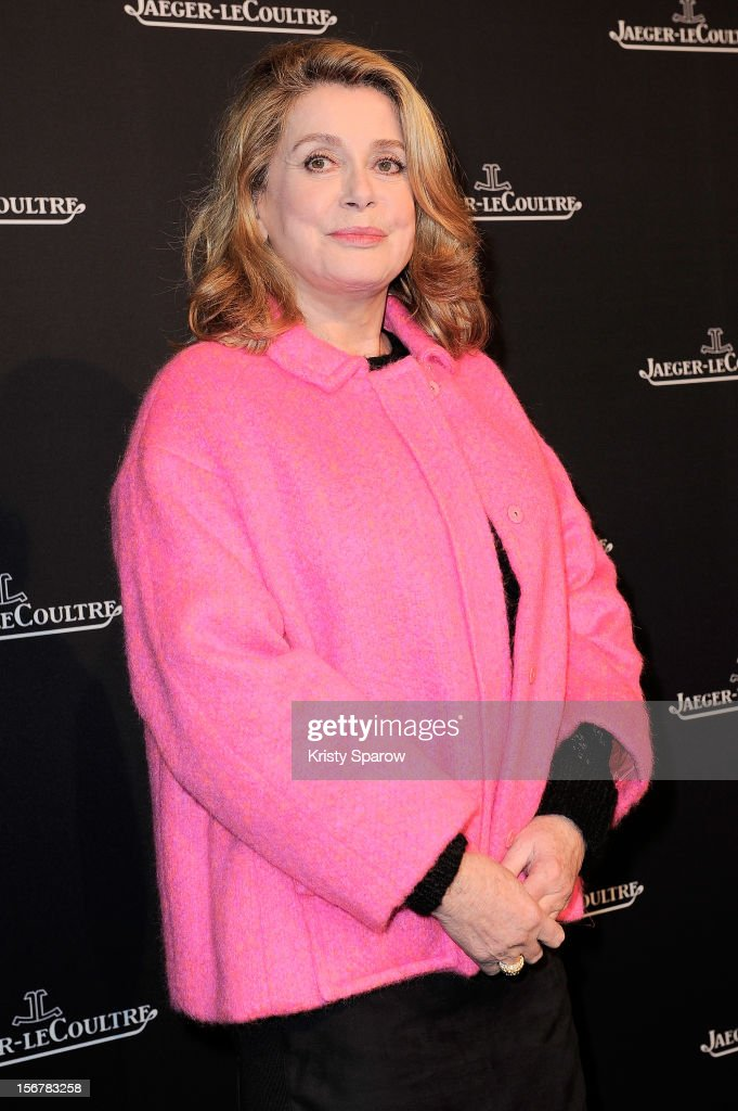 Catherine Deneuve attends the Jaeger-LeCoultre Place Vendome Boutique Opening at Jaeger-LeCoultre Boutique on November 20, 2012 in Paris.