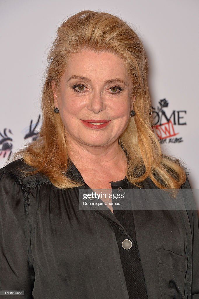 <a gi-track='captionPersonalityLinkClicked' href=/galleries/search?phrase=Catherine+Deneuve&family=editorial&specificpeople=123833 ng-click='$event.stopPropagation()'>Catherine Deneuve</a> attends the 'Lancome Show By Alber Elbaz' Party at Le Trianon on July 2, 2013 in Paris, France.