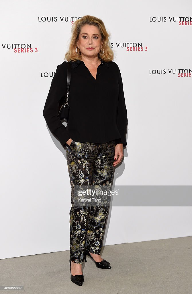 <a gi-track='captionPersonalityLinkClicked' href=/galleries/search?phrase=Catherine+Deneuve&family=editorial&specificpeople=123833 ng-click='$event.stopPropagation()'>Catherine Deneuve</a> attends the Louis Vuitton Series 3 VIP Launch on September 20, 2015 in London, England.