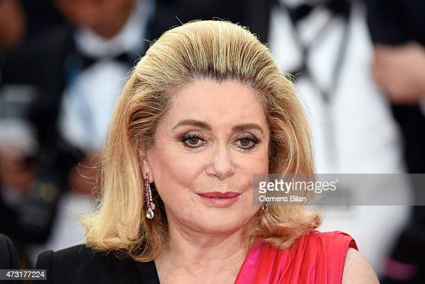 Catherine Deneuve attends the opening ceremony and premiere of 'La Tete Haute' during the 68th annual Cannes Film Festival on May 13 2015 in Cannes...
