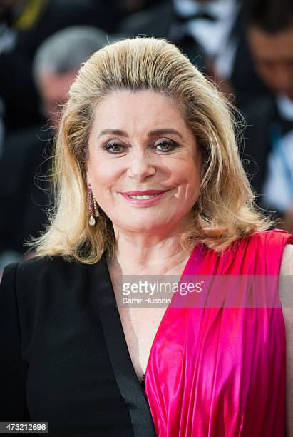 Catherine Deneuve attends the opening ceremony and premiere of 'La Tete Haute during the 68th annual Cannes Film Festival on May 13 2015 in Cannes...