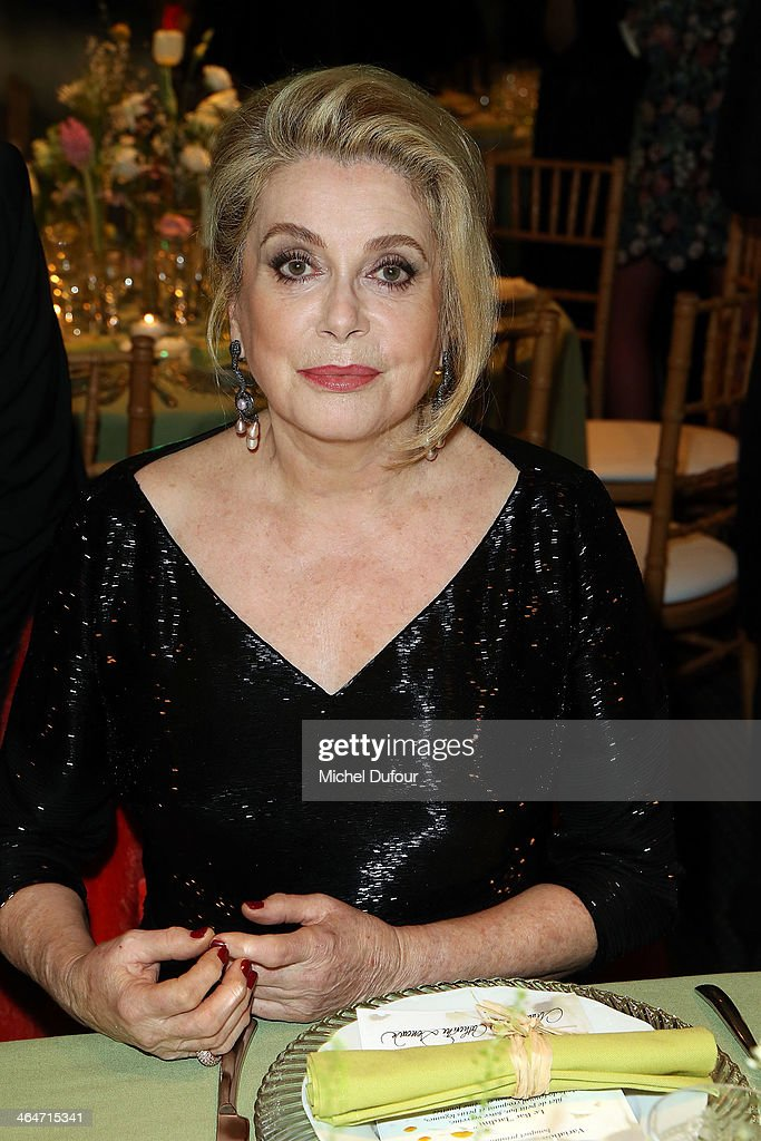 <a gi-track='captionPersonalityLinkClicked' href=/galleries/search?phrase=Catherine+Deneuve&family=editorial&specificpeople=123833 ng-click='$event.stopPropagation()'>Catherine Deneuve</a> attends the Sidaction Gala Dinner at Pavillon d'Armenonville on January 23, 2014 in Paris, France.