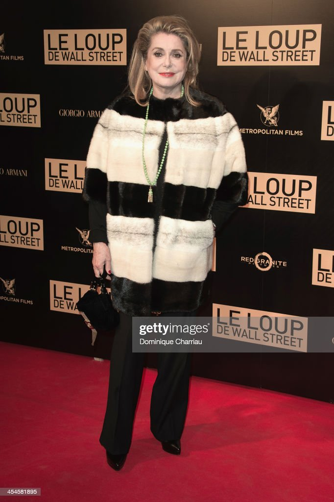 <a gi-track='captionPersonalityLinkClicked' href=/galleries/search?phrase=Catherine+Deneuve&family=editorial&specificpeople=123833 ng-click='$event.stopPropagation()'>Catherine Deneuve</a> attends the' Wolf of Wall Street' Photocall At Cinema Gaumont Opera Capucines at Cinema Gaumont Opera on December 9, 2013 in Paris, France.