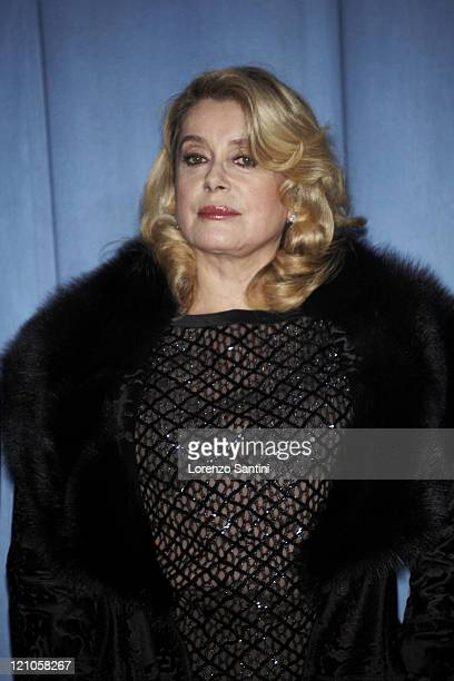 Catherine Deneuve during 'Le Heros de la Famille' Paris Premiere in Paris France