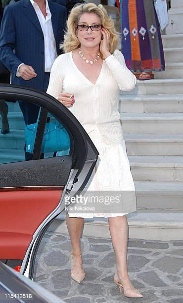 Catherine Deneuve during The 63rd International Venice Film Festival Catherine Deneuve Sighting at Lido in Venice Italy
