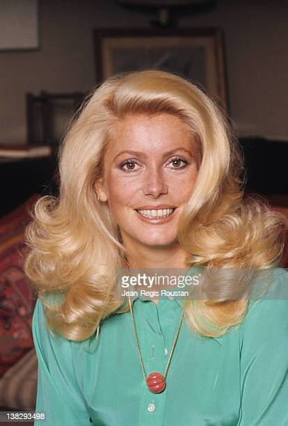 Catherine Deneuve French actress France 1974