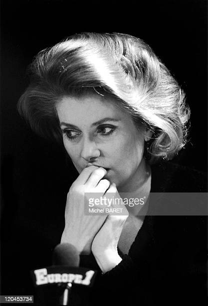 Catherine Deneuve in December 1984