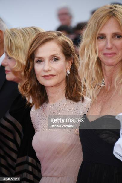 Catherine Deneuve Isabelle Huppert and Sandrine Kiberlain attend the 'The Killing Of A Sacred Deer' screening during the 70th annual Cannes Film...