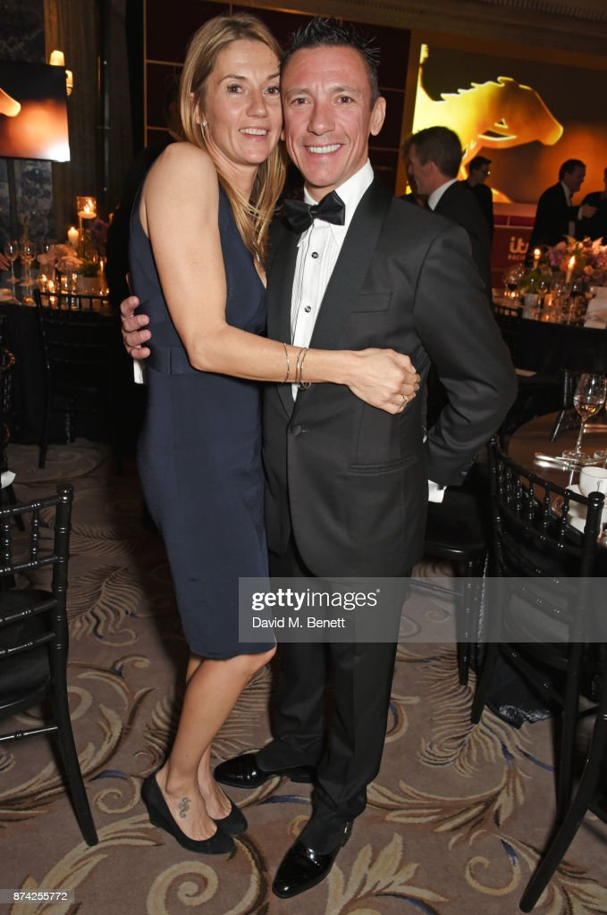 Catherine Dettori (L) and Frankie Dettori attend The Cartier Racing Awards 2017 at The Dorchester on November 14, 2017 in London, England.