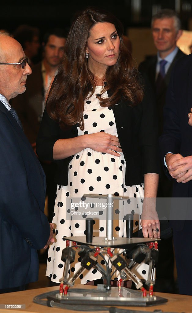 <a gi-track='captionPersonalityLinkClicked' href=/galleries/search?phrase=Catherine+-+Duchess+of+Cambridge&family=editorial&specificpeople=542588 ng-click='$event.stopPropagation()'>Catherine</a>, Duchess of Cambridg during the Inauguration Of Warner Bros. Studios Leavesden on April 26, 2013 in London, England.