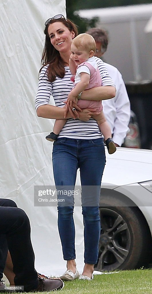 <a gi-track='captionPersonalityLinkClicked' href=/galleries/search?phrase=Catherine+-+Duchess+of+Cambridge&family=editorial&specificpeople=542588 ng-click='$event.stopPropagation()'>Catherine</a>, Duchess of Cambridge and her son Prince George attend the Royal Charity Polo during the Maserati Jerudong Trophy at Cirencester Park Polo Club on June 15, 2014 in Cirencester, England.