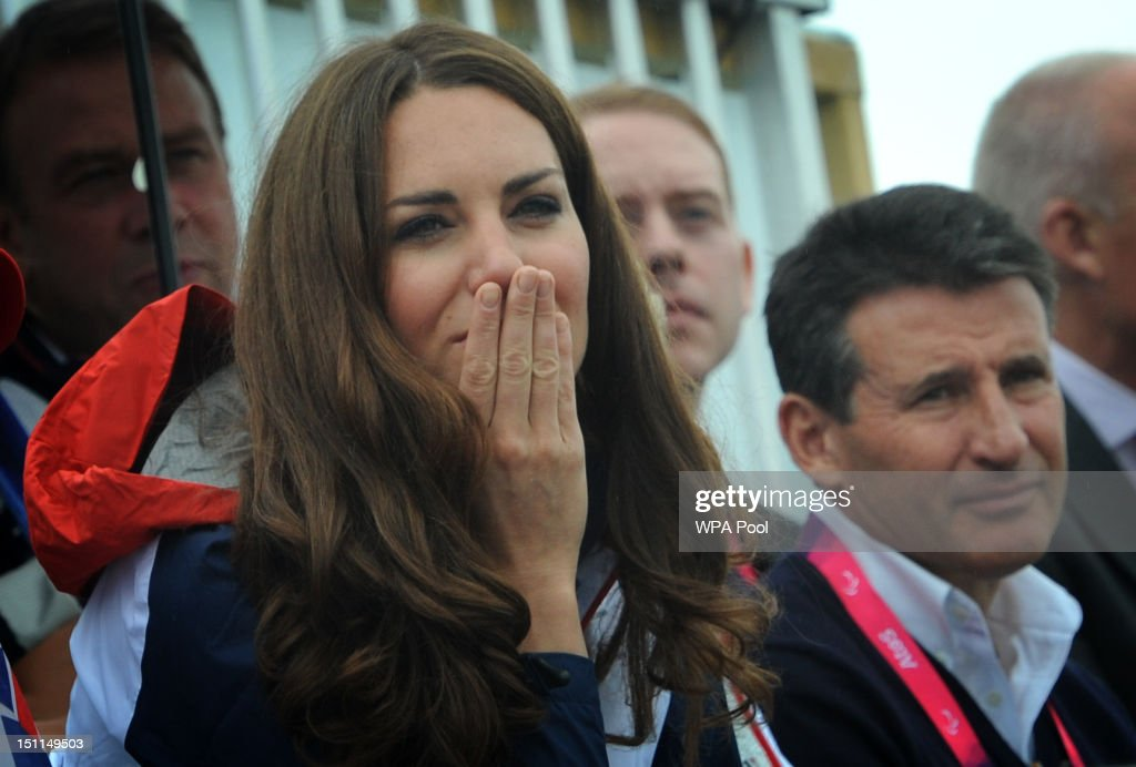 <a gi-track='captionPersonalityLinkClicked' href=/galleries/search?phrase=Catherine+-+Duchess+of+Cambridge&family=editorial&specificpeople=542588 ng-click='$event.stopPropagation()'>Catherine</a>, Duchess of Cambridge and LOCOG chairman Lord Sebastian Coe watch the rowing finals on day 4 of the London 2012 Paralympic Games at Eton Dorney on September 2, 2012 in Windsor, England.