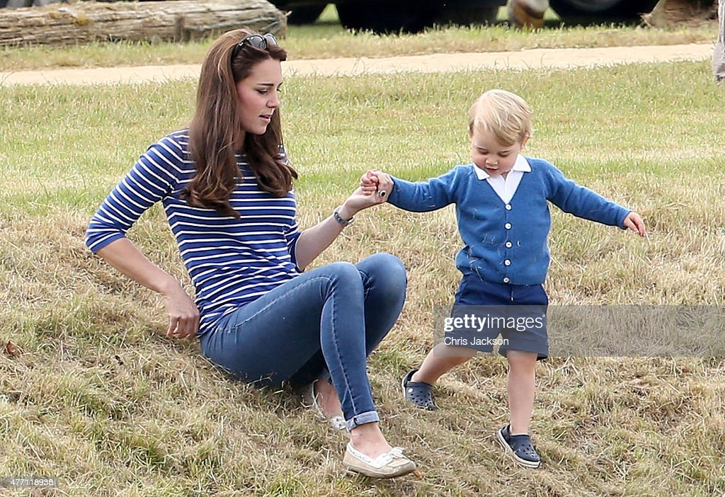 <a gi-track='captionPersonalityLinkClicked' href=/galleries/search?phrase=Catherine+-+Duchess+of+Cambridge&family=editorial&specificpeople=542588 ng-click='$event.stopPropagation()'>Catherine</a> Duchess of Cambridge and Prince George attend the Gigaset Charity Polo Match with <a gi-track='captionPersonalityLinkClicked' href=/galleries/search?phrase=Prince+George+of+Cambridge&family=editorial&specificpeople=11176510 ng-click='$event.stopPropagation()'>Prince George of Cambridge</a> at Beaufort Polo Club on June 14, 2015 in Tetbury, England.