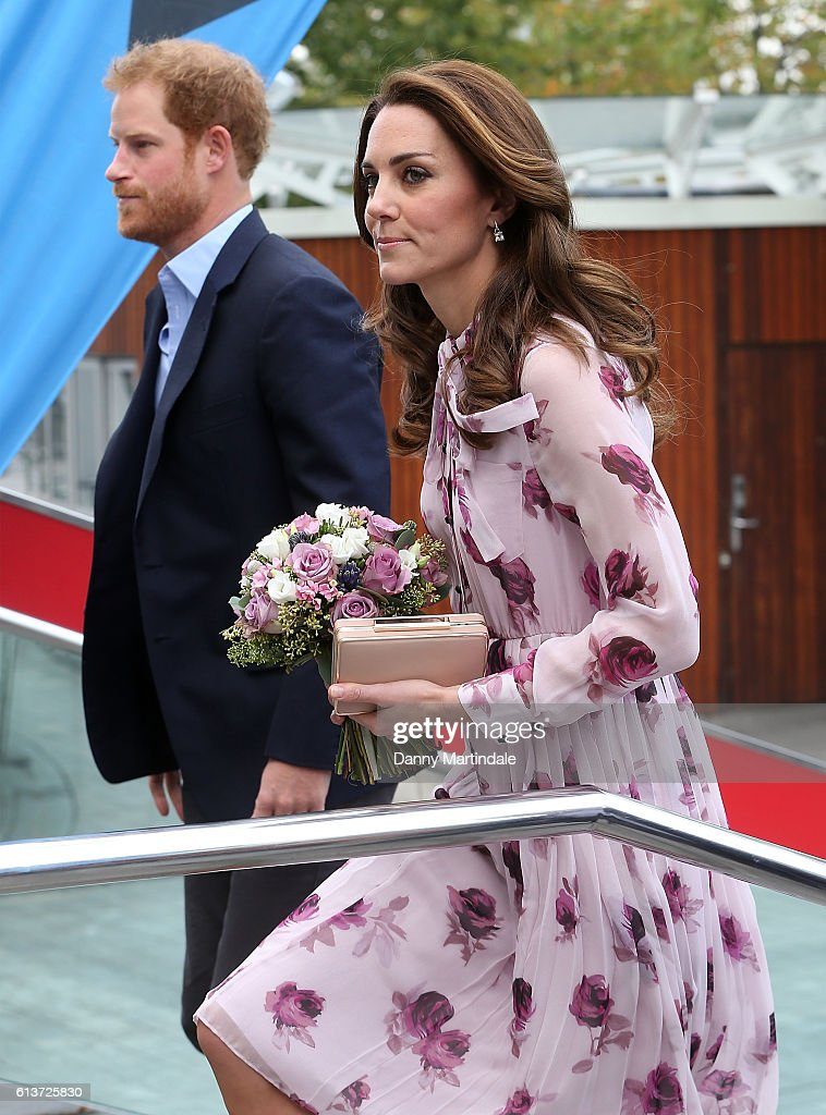 catherine-duchess-of-cambridge-and-prince-harry-arrive-to-celebrate-picture-id613725830
