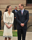 Catherine Duchess of Cambridge and Prince William Duke of Cambridge visit the Province House on July 5 2011 in Charlottetown Canada
