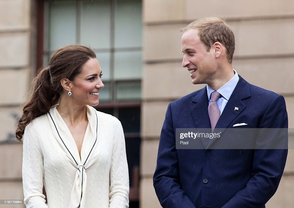 Catherine, Duchess of Cambridge and <a gi-track='captionPersonalityLinkClicked' href=/galleries/search?phrase=Prince+William&family=editorial&specificpeople=178205 ng-click='$event.stopPropagation()'>Prince William</a>, Duke of Cambridge visit Province House on July 5, 2011 in Charlottetown, Canada. The newly married Royal Couple are on the fifth day of their first joint overseas tour as they visited Pronvince House, the location for the Charlottestown conference of 1864 where the idea of the nation of Canada forged. The 12 day visit to North America is taking in some of the more remote areas of the country such as Prince Edward Island, Yellowknife and Calgary. The Royal couple started off their tour by joining millions of Canadians in taking part in Canada Day celebrations which mark Canada's 144th Birthday.