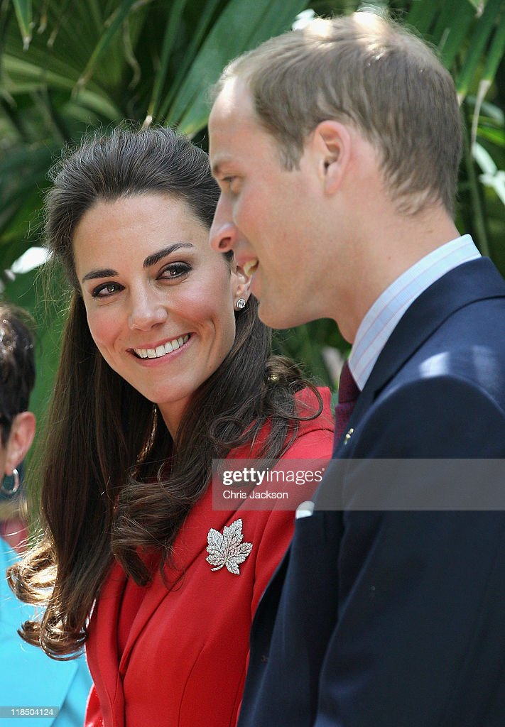 Catherine, Duchess of Cambridge and <a gi-track='captionPersonalityLinkClicked' href=/galleries/search?phrase=Prince+William&family=editorial&specificpeople=178205 ng-click='$event.stopPropagation()'>Prince William</a>, Duke of Cambridge attends a reception at Calgary Zoo on July 8, 2011 in Calgary, Canada. The newly married Royal Couple are on the ninth day of their first joint overseas tour. The 12 day visit to North America is taking in some of the more remote areas of the country such as Prince Edward Island, Yellowknife and Calgary. The Royal couple started off their tour by joining millions of Canadians in taking part in Canada Day celebrations which mark Canada's 144th Birthday.