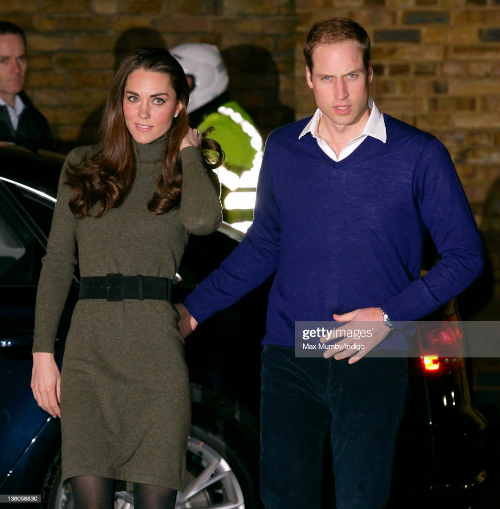 Catherine, Duchess of Cambridge and <a gi-track='captionPersonalityLinkClicked' href=/galleries/search?phrase=Prince+William&family=editorial&specificpeople=178205 ng-click='$event.stopPropagation()'>Prince William</a>, Duke of Cambridge arrive for a visit to homeless charity Centrepoint's Camberwell Foyer on December 21, 2011 in London, England.