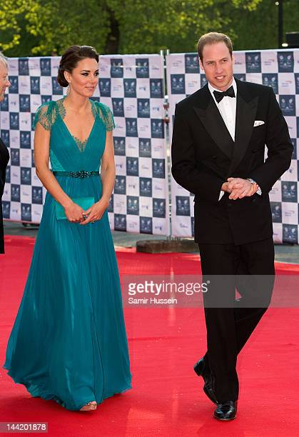 Catherine Duchess of Cambridge and Prince William Duke of Cambridge arrive to attend the official launch party for Team GB and Paralympics GB ahead...