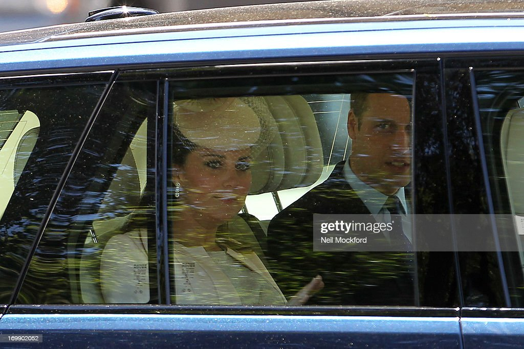<a gi-track='captionPersonalityLinkClicked' href=/galleries/search?phrase=Catherine+-+Duchess+of+Cambridge&family=editorial&specificpeople=542588 ng-click='$event.stopPropagation()'>Catherine</a>, Duchess of Cambridge and <a gi-track='captionPersonalityLinkClicked' href=/galleries/search?phrase=Prince+William&family=editorial&specificpeople=178205 ng-click='$event.stopPropagation()'>Prince William</a>, Duke of Cambridge attend service marking the 60th anniversary of the Queen's coronation at Westminster Abbey on June 4, 2013 in London, England.