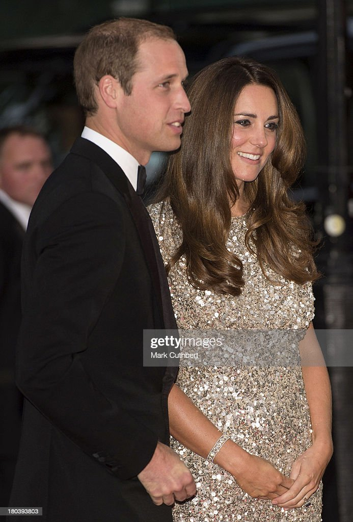 Catherine, Duchess of Cambridge and Prince William, Duke of Cambridge attend The Tusk Conservation Awards at The Royal Society on September 12, 2013 in London, England.